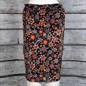 ⭐️HP🧜♀️Pencil Skirt by D&G Floral Print sz40 NEW